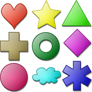 more clipart shapes