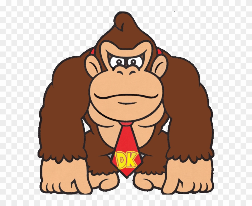 March clipart donkey kong.