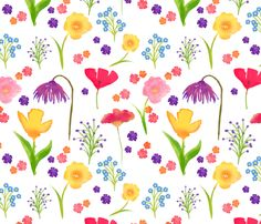 May flowers clip art floral.