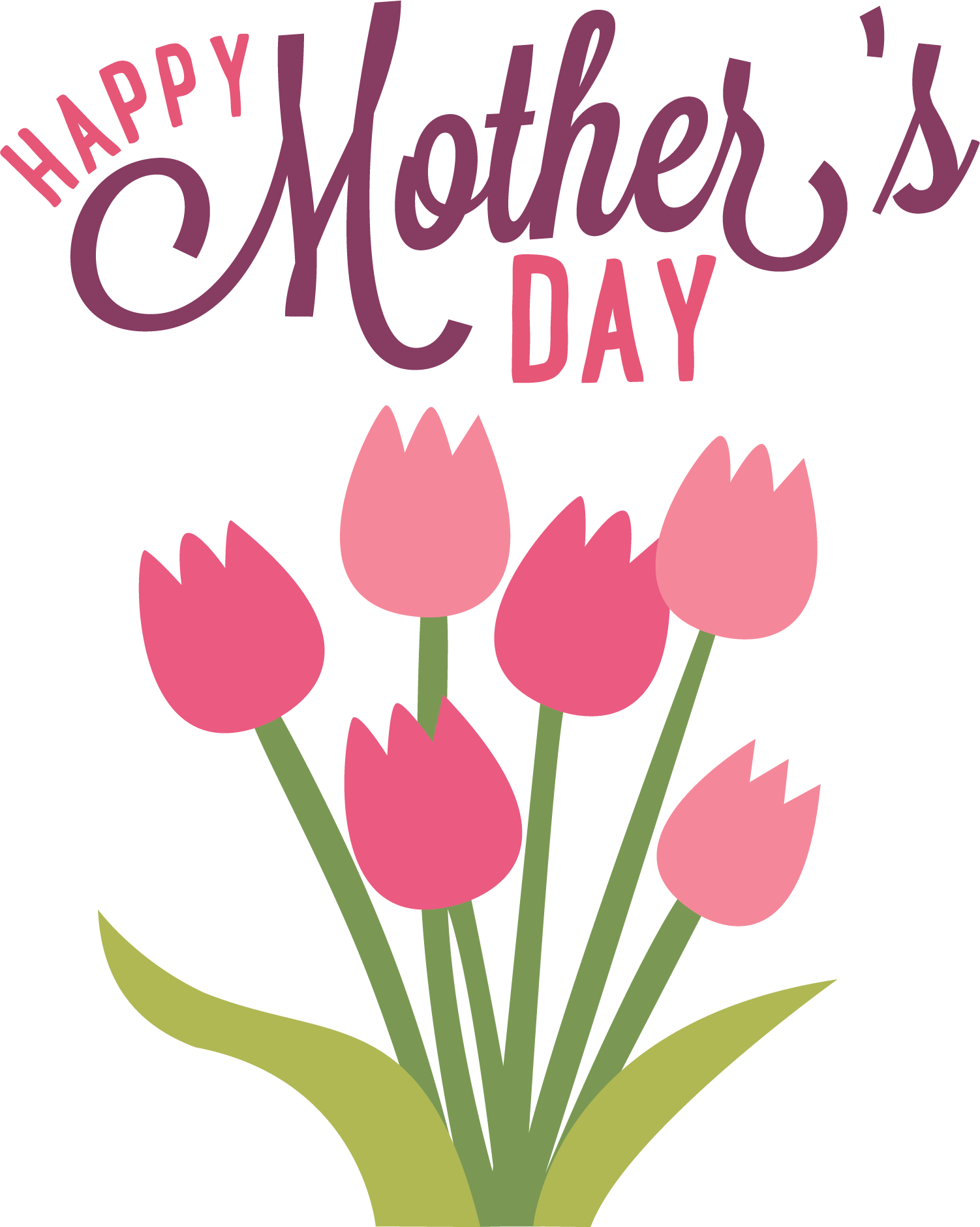 mother-s day clipart free happy