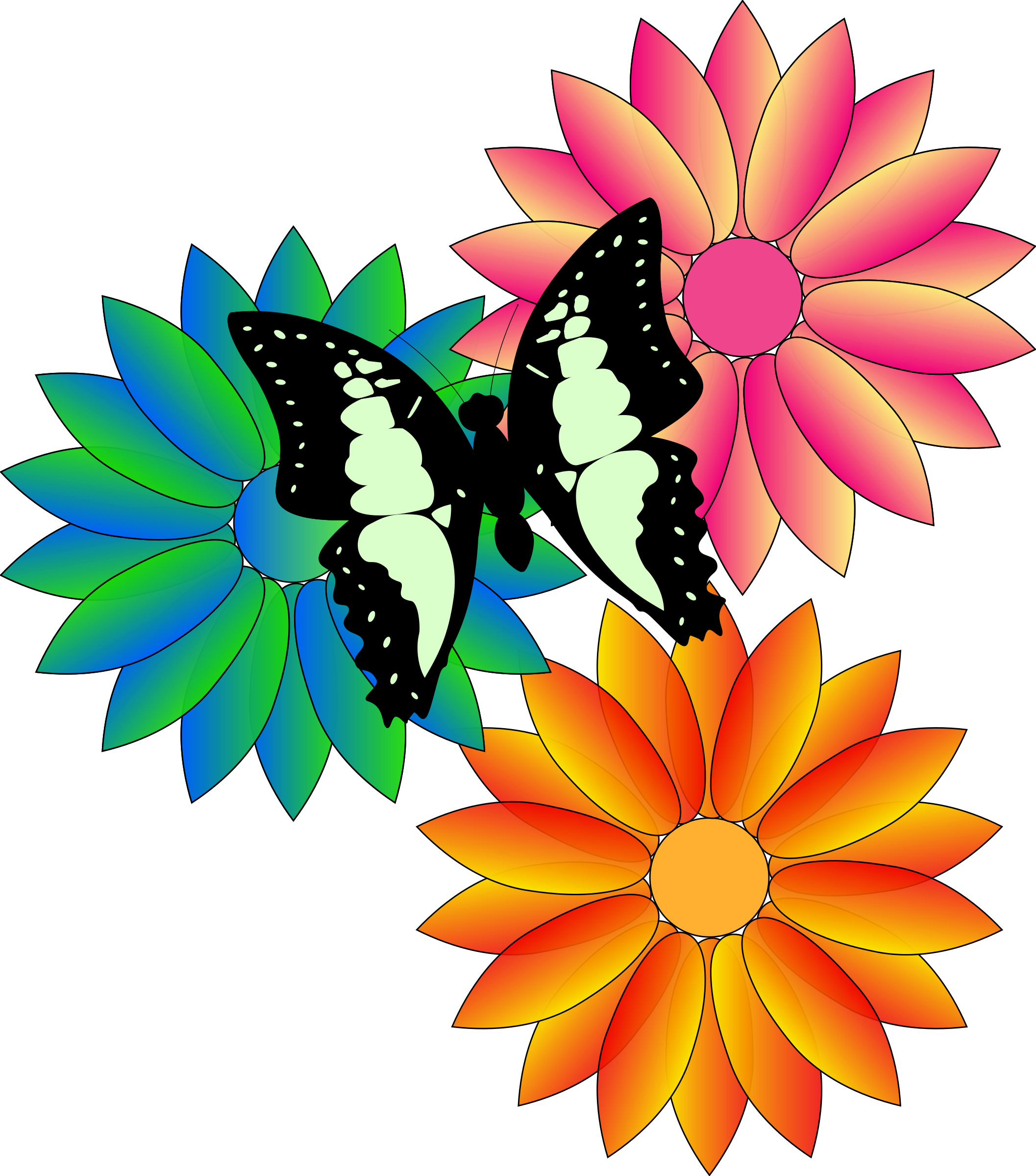 May flowers clip art spring.