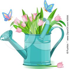 May flowers clip art tulip.