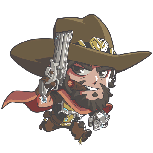mccree clipart high noon
