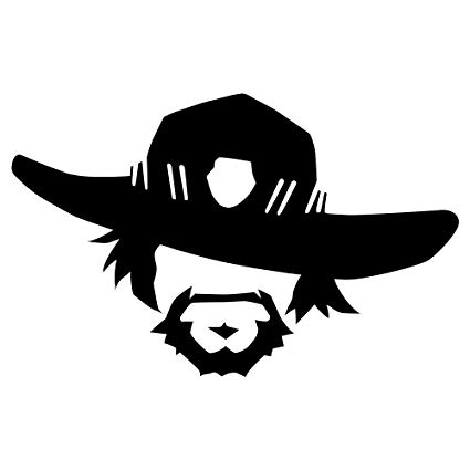 mccree clipart overwatch poster