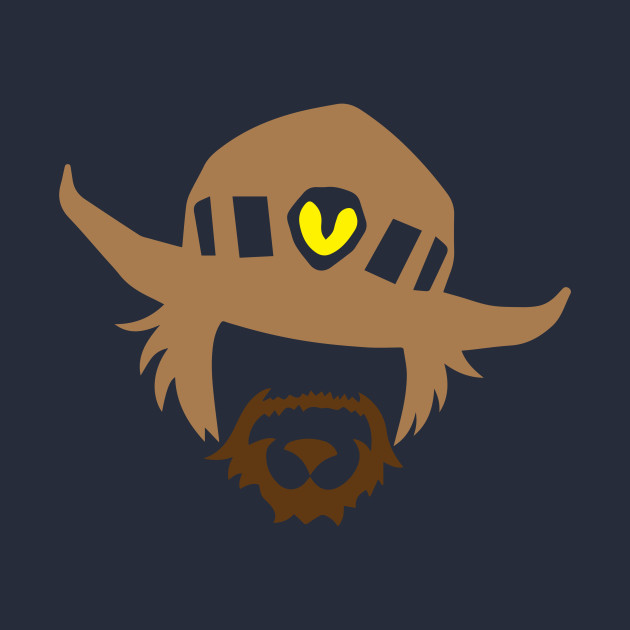 mccree clipart overwatch font