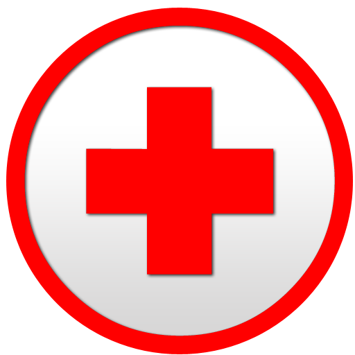 red cross clipart circle