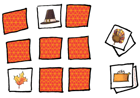 memory clipart game
