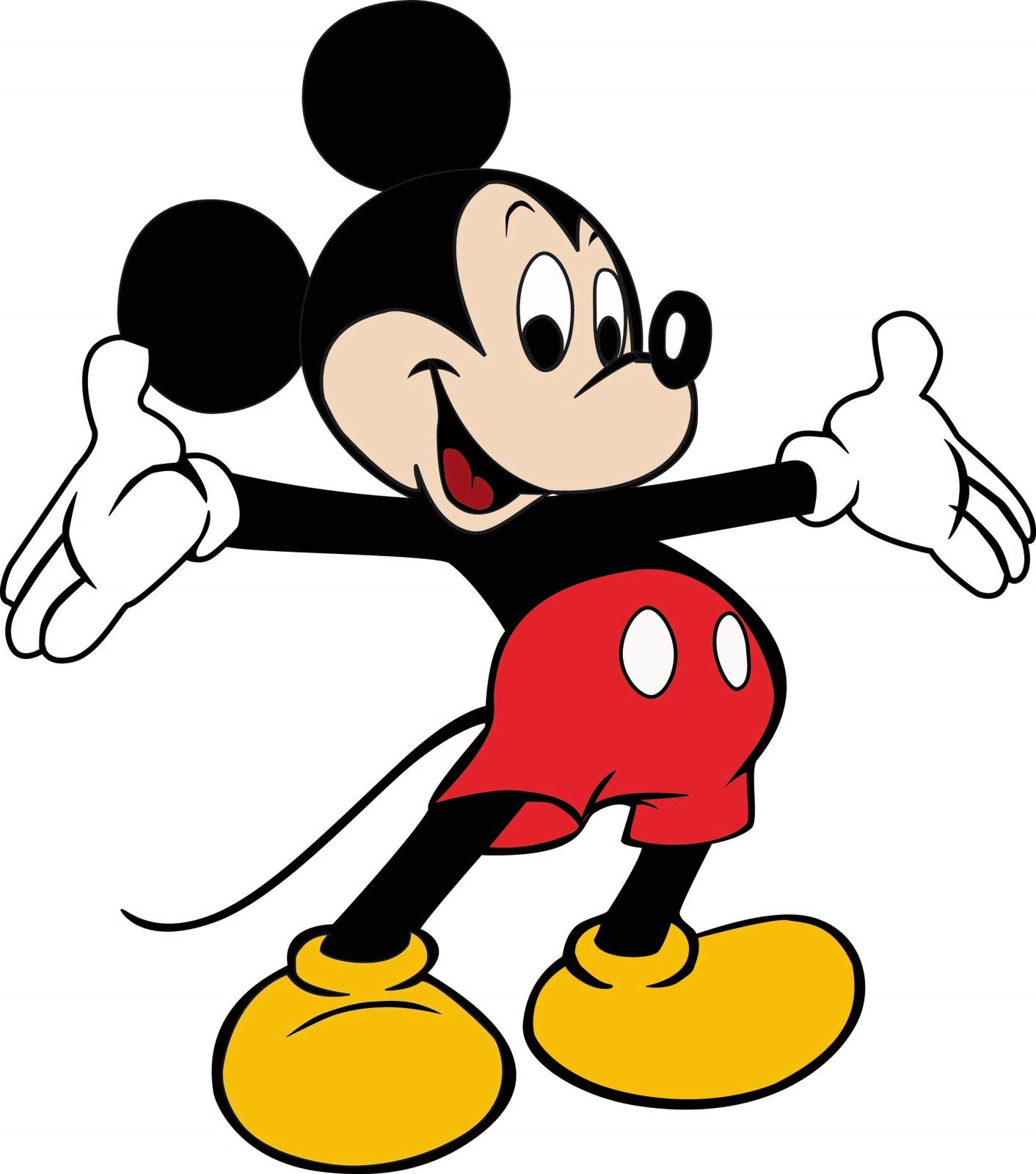 mickey mouse clipart high resolution