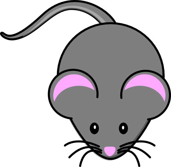 mice clipart quiet mouse