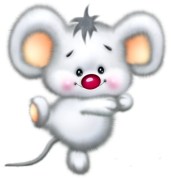 clipart mouse kawaii