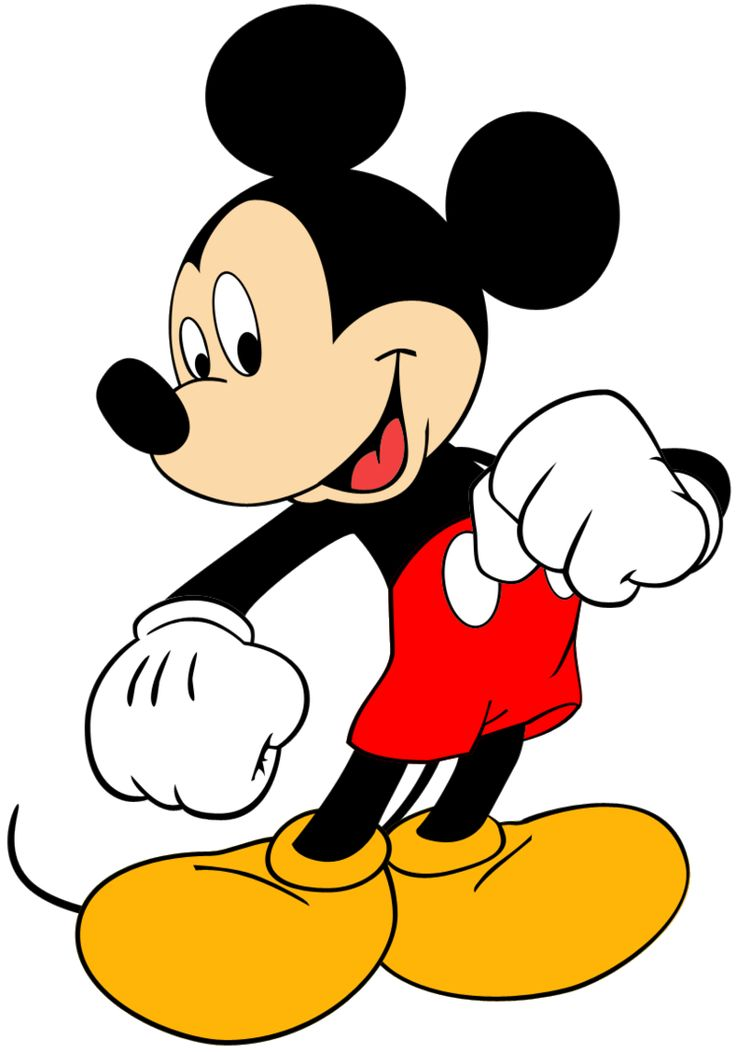 1 clipart mickey mouse.