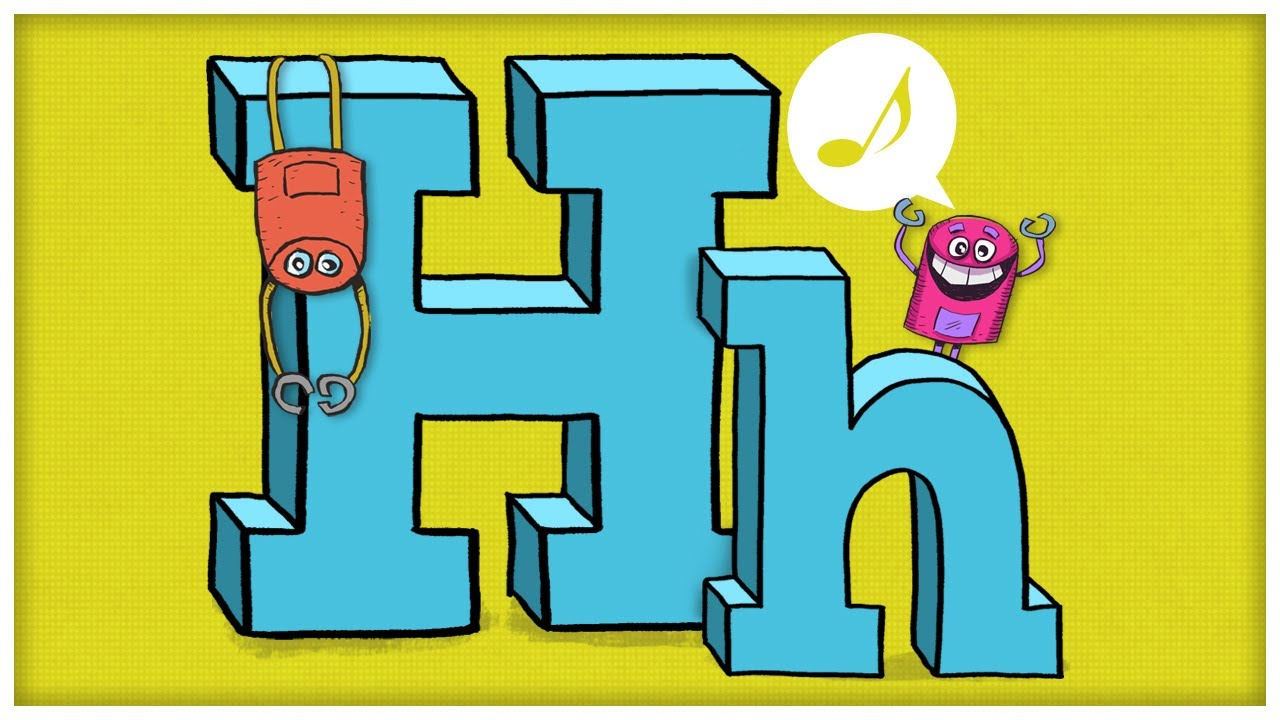 Cartoon clipart alphabet h.