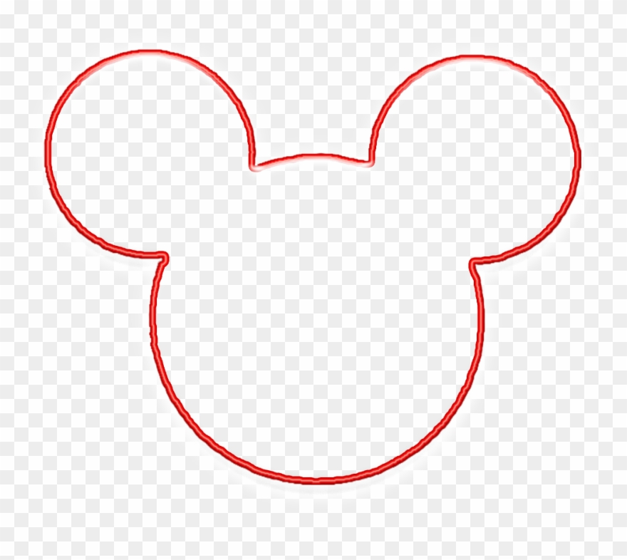 mickey mouse head clipart transparent background