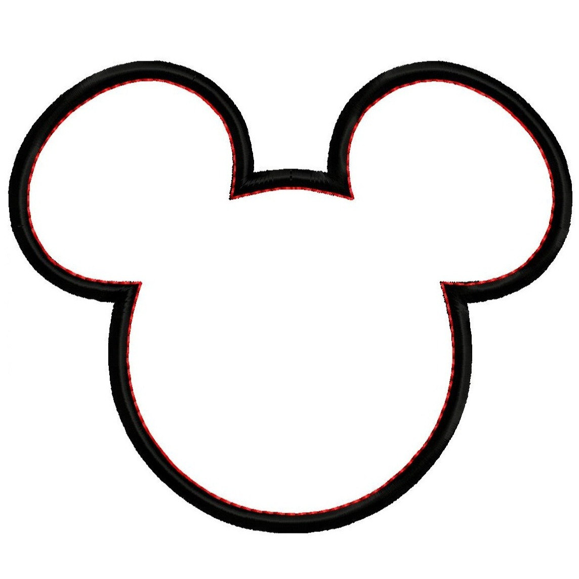 mickey mouse head clipart minnie