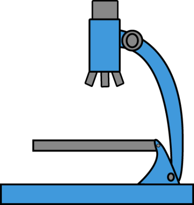 Microscope clipart library.