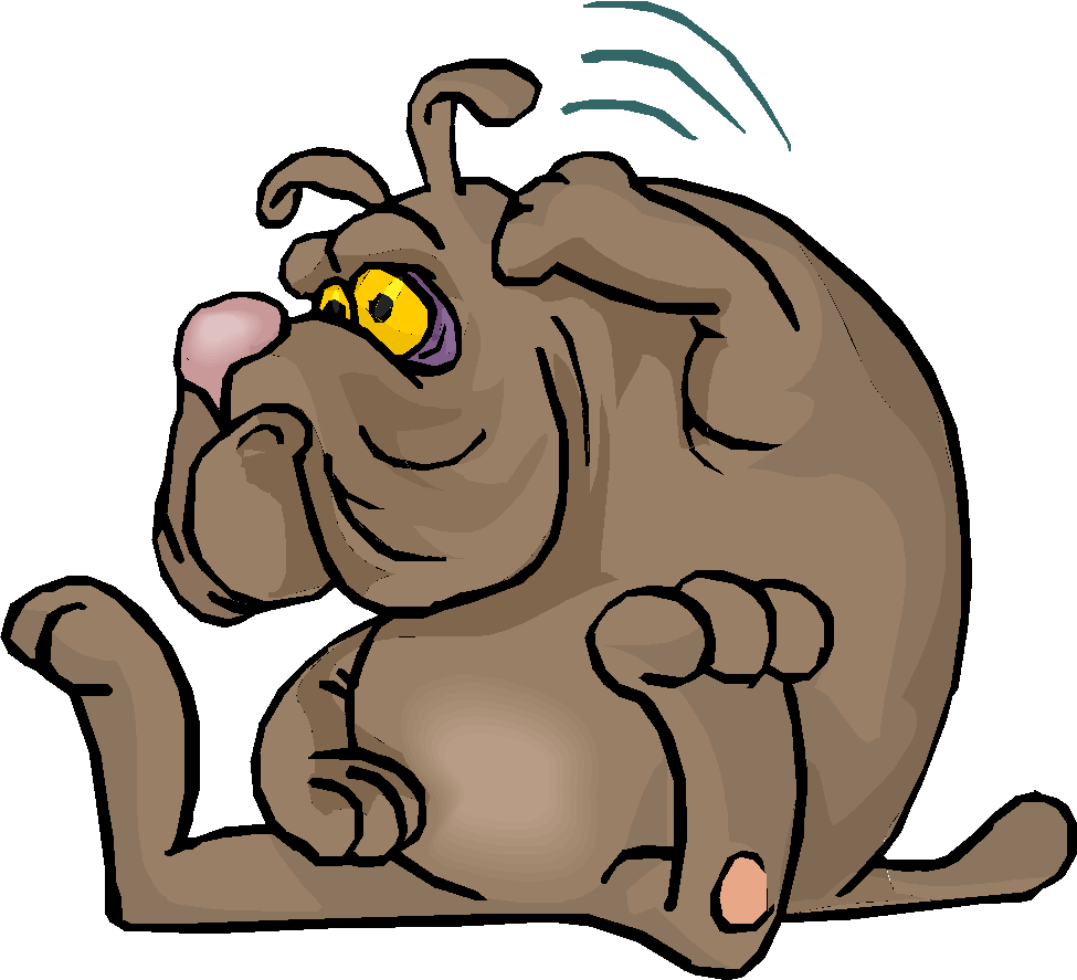 sorry clipart dog