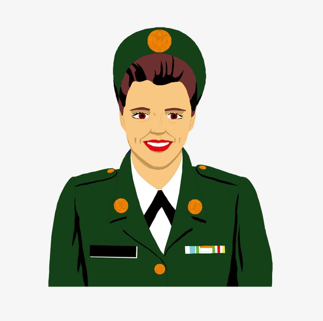 Military clip art military officer.