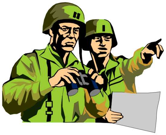 powerpoint clipart military