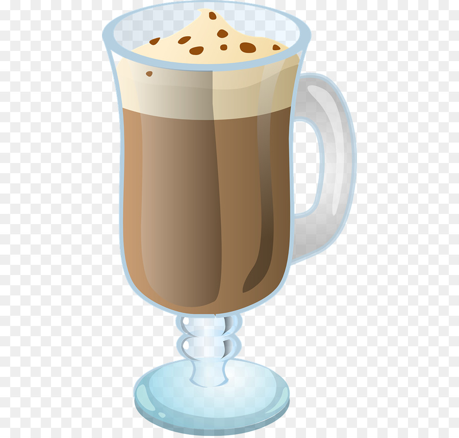 latte clipart iced coffee