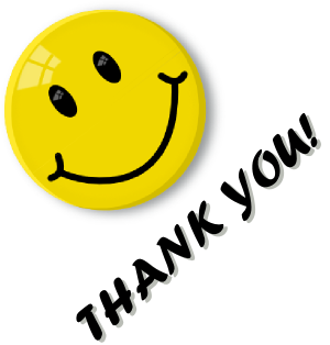clipart thank you smiley