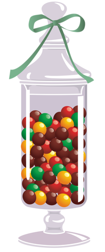 jar clipart candy
