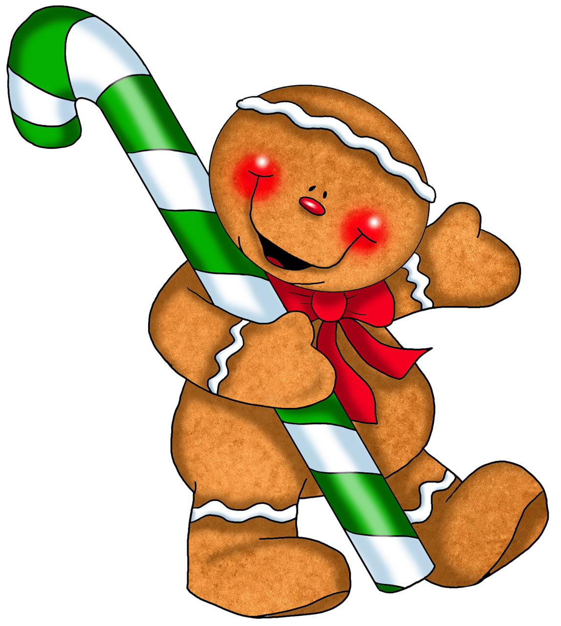 gingerbread clipart christmas