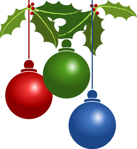 ornament clipart holiday
