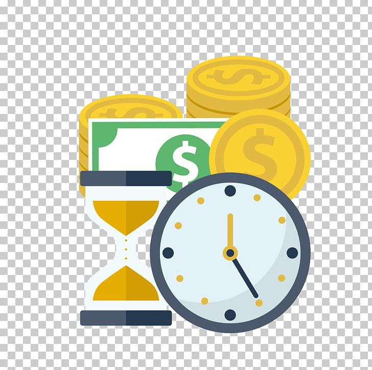 time clipart money