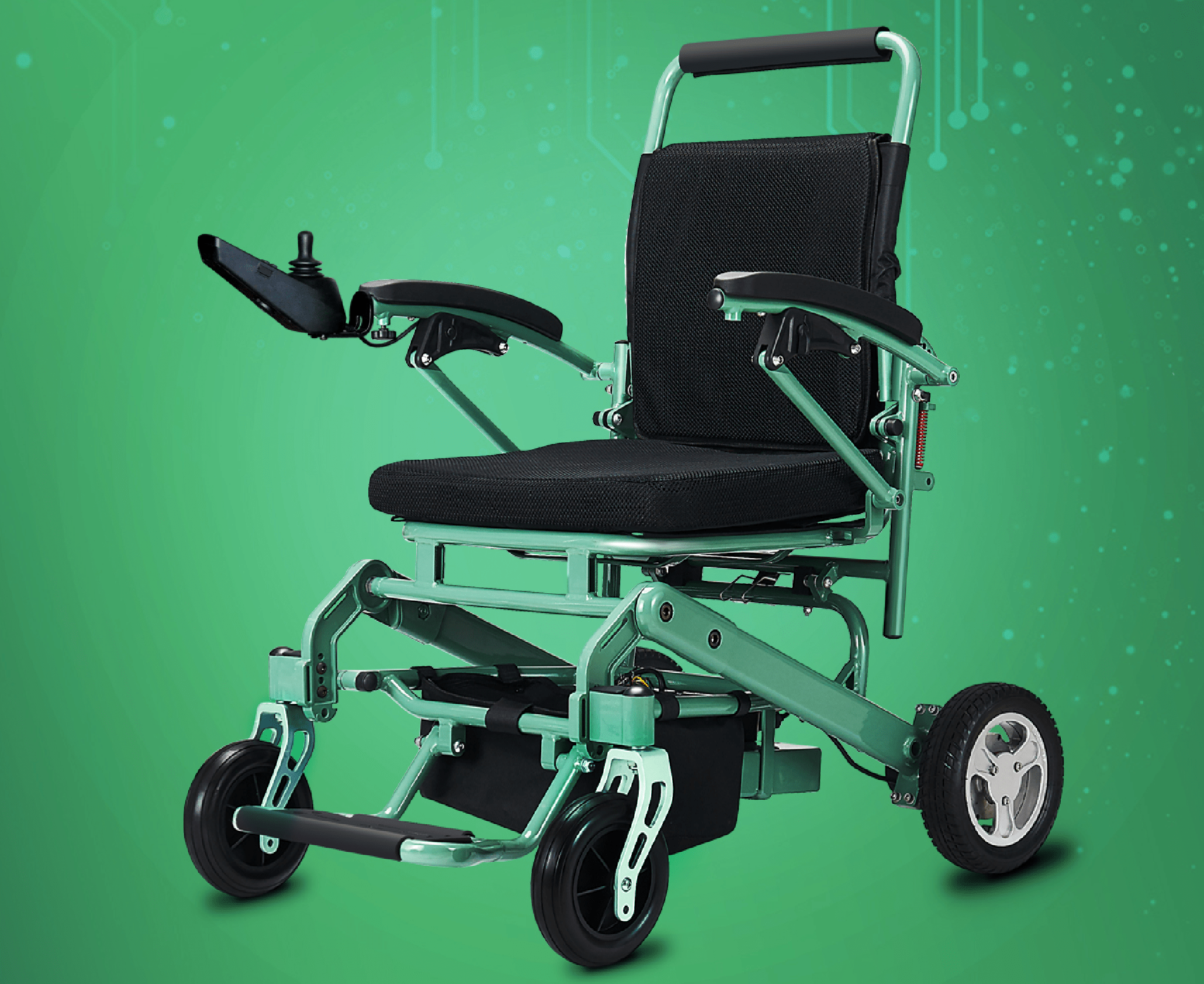 Motorized clipart electric wheelchair.