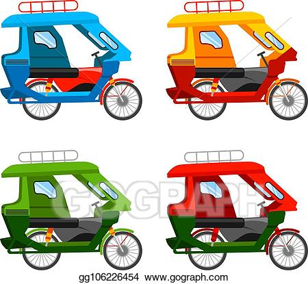 Motorized clipart vector.