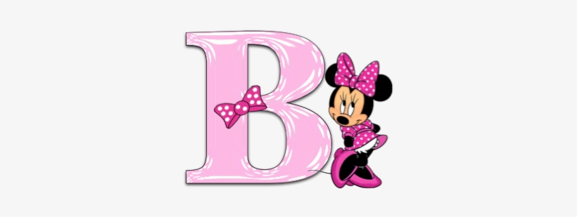 letter a clipart minnie mouse