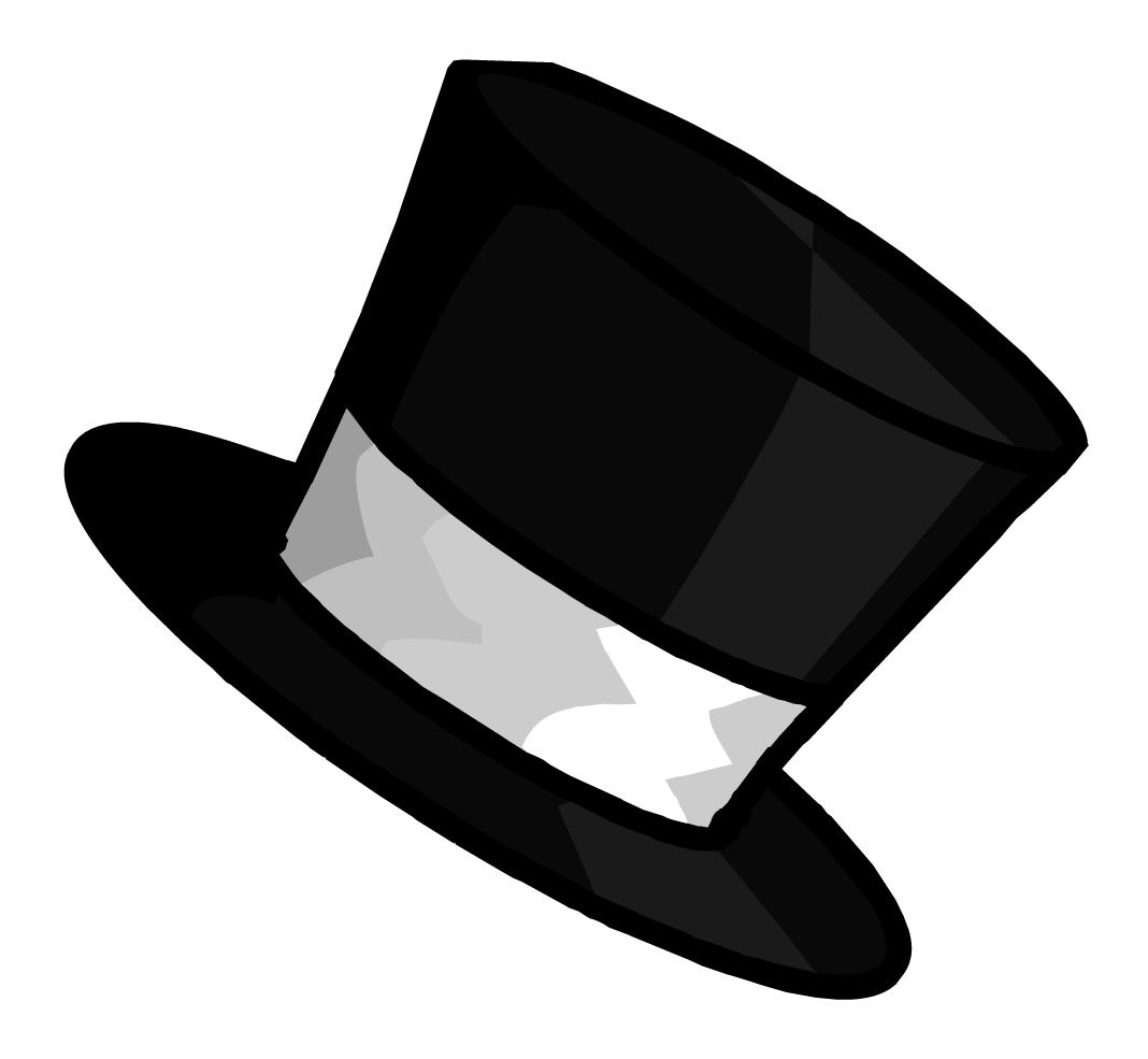 top hat clipart small