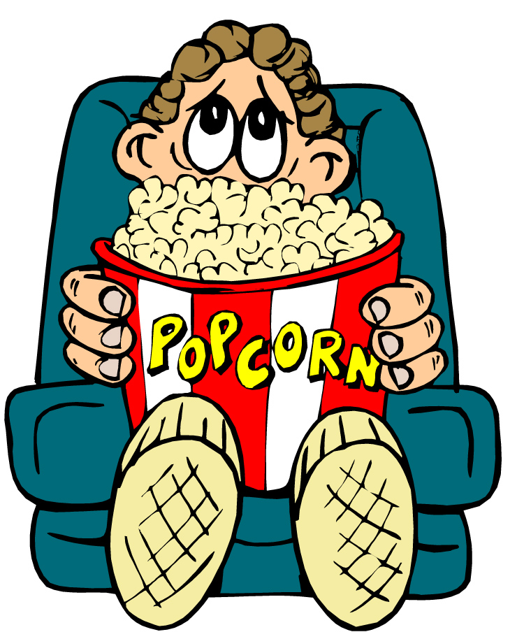 Movies clipart film viewing.