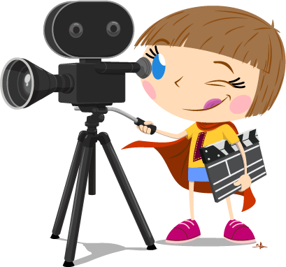 Movies clipart actor.