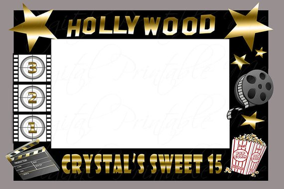 Movies clipart booth.