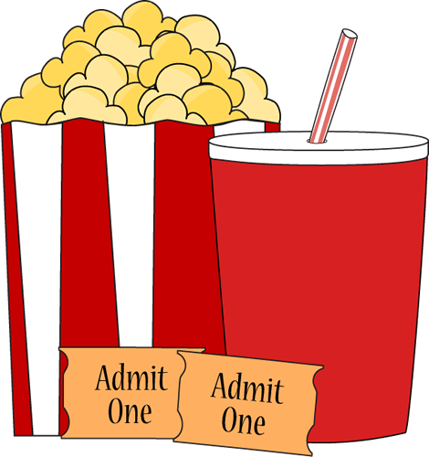 Movies clipart printable.