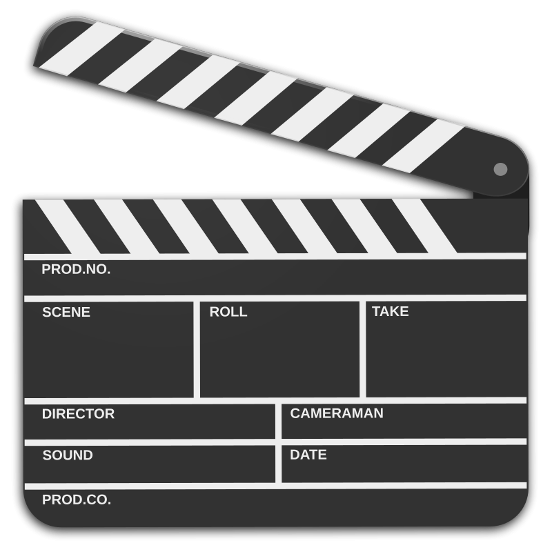 Movies clipart film production.
