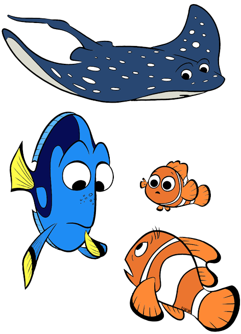 Movies clipart finding dory.