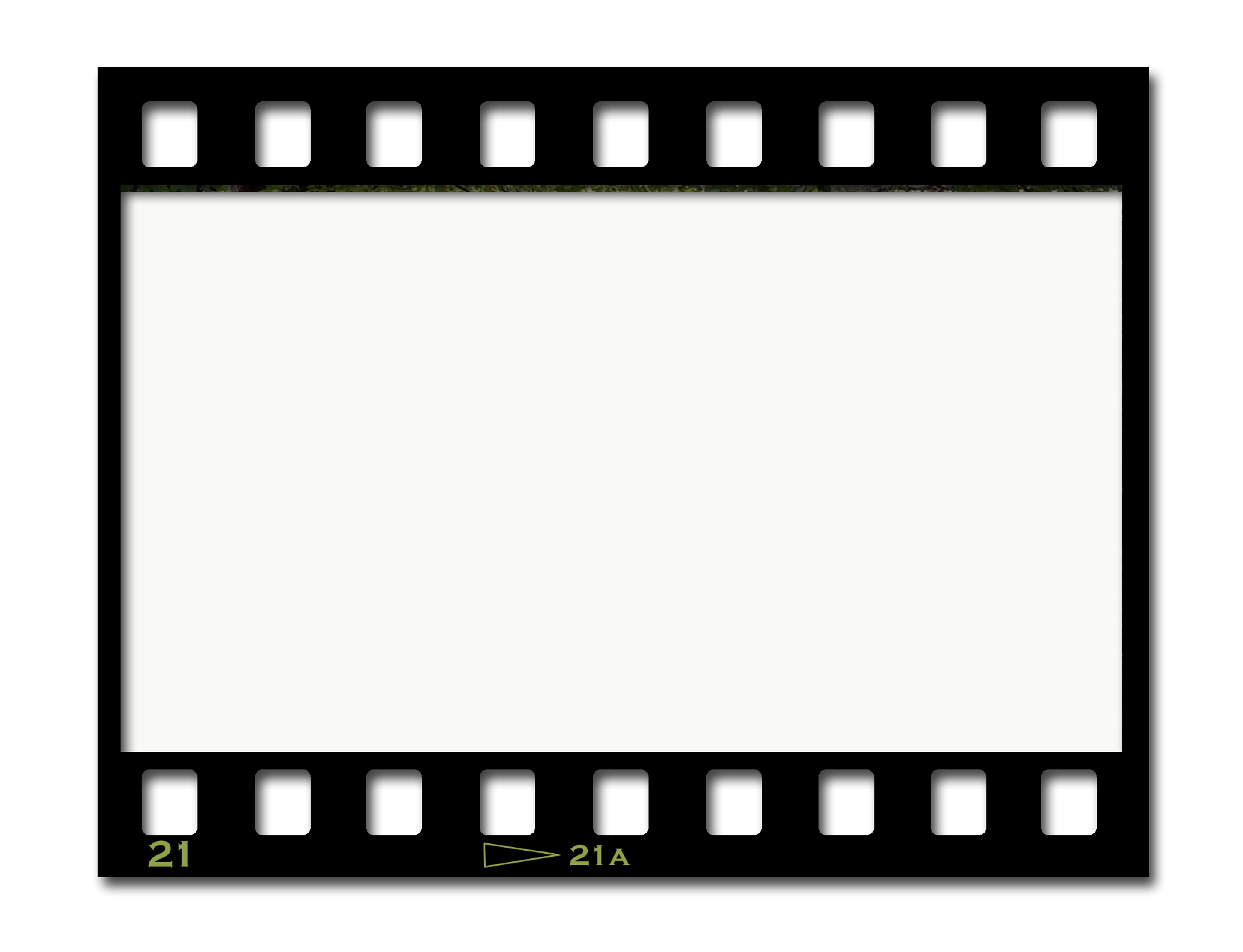 Movies clipart light border.