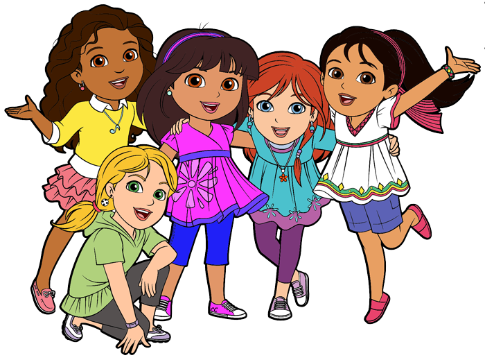 friendship clipart animated