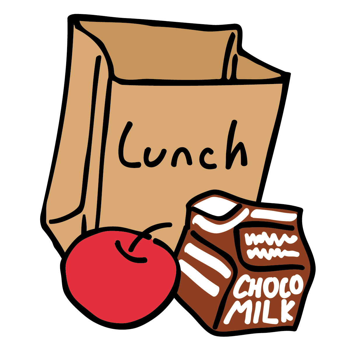 Movies clipart lunch.