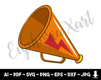 Movies clipart megaphone.
