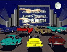 Movies clipart movie drive in.