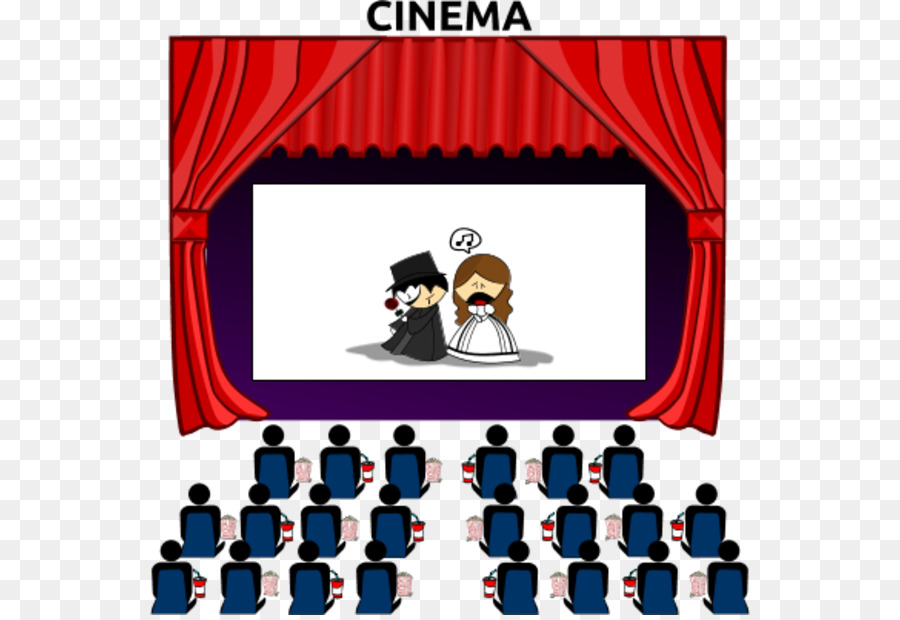 Movies clipart movie theater.