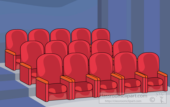 Movies clipart seat.