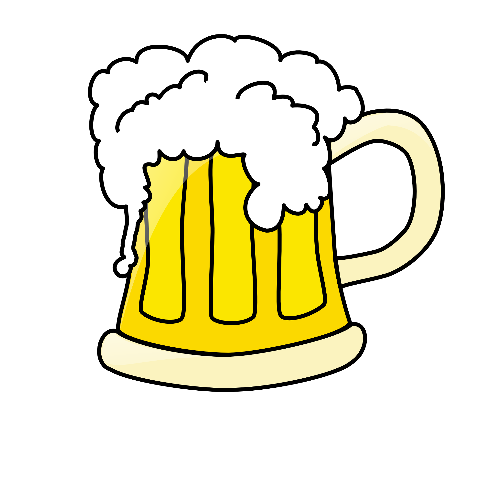 beer clipart pouring