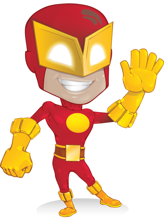 the flash clipart kid