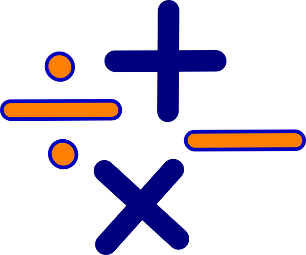 Multiplication clipart math science.