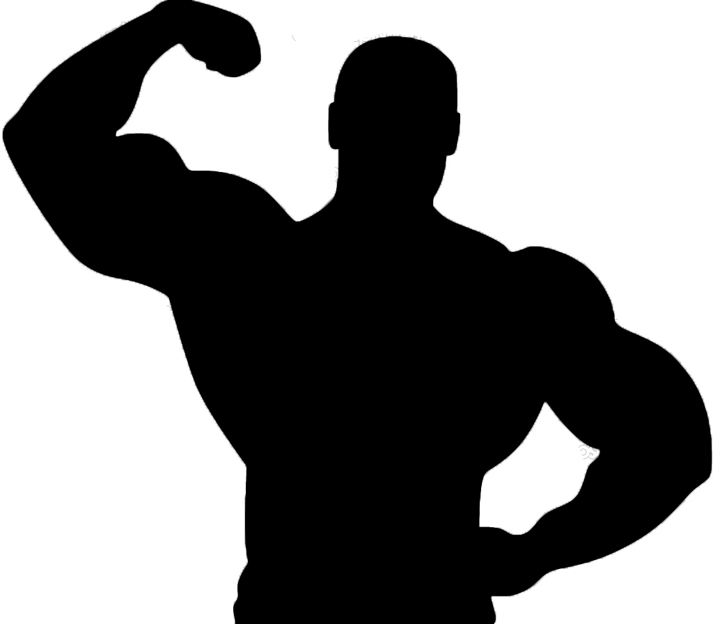 fitness clipart male