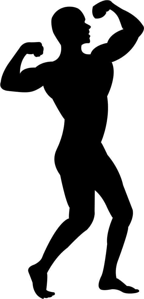 muscle clipart svg